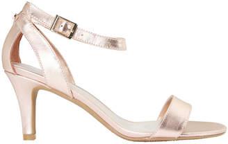 Amalfi Rose Gold Metallic Sandal