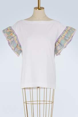 Emilio Pucci Miami silk sleeves t-shirt