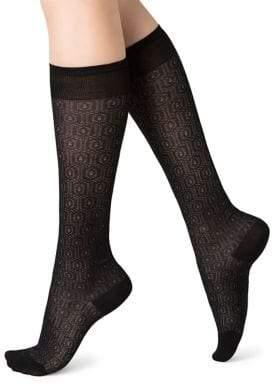 Bleu Foret Women's Lacy Socks