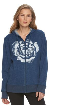 Women's Life is Good French Terry Full-Zip Hoodie $68 thestylecure.com