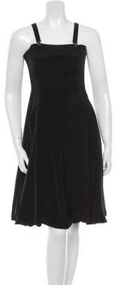 Yohji Yamamoto Bustier Silk Dress w/ Tags $875 thestylecure.com