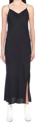 Theory 'draped Back Maxi' Dress