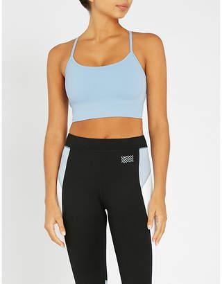 Monreal London Seamless Zen stretch-jersey bra