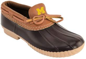 NCAA Kohl's Women's Michigan Wolverines Low Duck Step-In Shoes