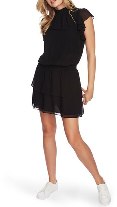 1 STATE 1.STATE Flutter Sleeve Dress