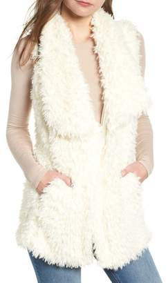 Bishop + Young BISHOP AND YOUNG Faux Fur Vest