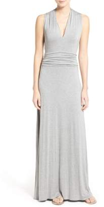 Vince Camuto V-Neck Maxi Dress