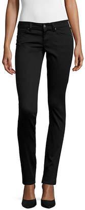 Arizona Sateen Skinny Pants-Juniors