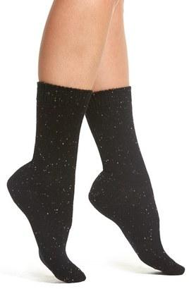 Women's B.ella Moda Cashmere Blend Crew Socks $45 thestylecure.com