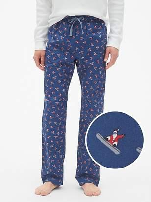 Gap Pajama Pants in Poplin
