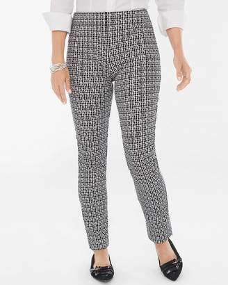 New So Slimming So Slimming Juliet Check-Print Ankle Pants