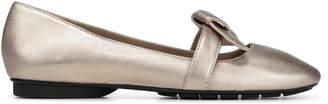 Donald J Pliner DAZIE, Metallic Leather Flat