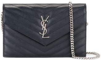Saint Laurent 'Monogram' chain wallet