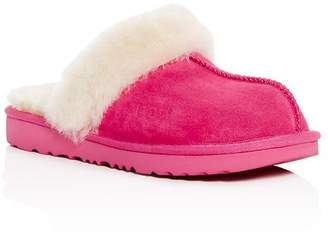 fcbe4aa79bf UGG Girls  Cozy II Suede   Shearling Slippers - Little Kid