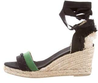 Castaner Fabric Espadrille Wedges