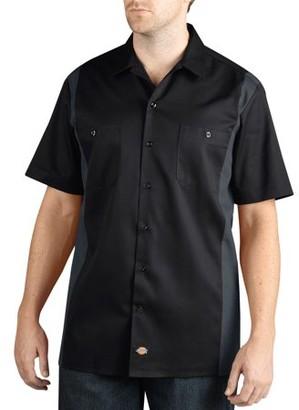 Dickies Big Men's Short Sleeve Two-Tone Work Shirt