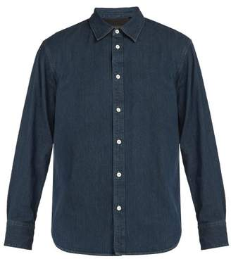 Rag & Bone Fit 3 Beach Denim Shirt - Mens - Indigo