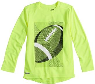 Boys 4-12 Jumping Beans Active Long Sleeve Graphic Tee
