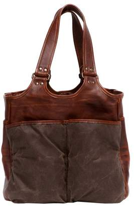 "Moore & Giles Fine Leather Picnic Tote Carryall ""Belle"""
