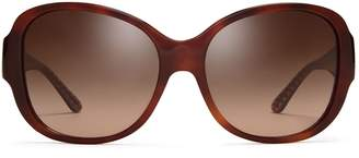 Tory Burch STACKED-T SQUARE SUNGLASSES