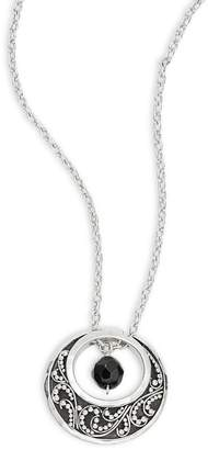 Lois Hill Women's Moon Pendant Necklace