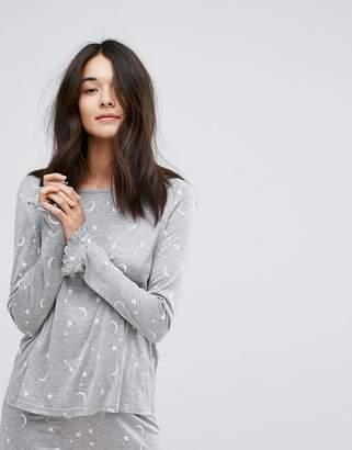 Vero Moda Star & Moon Pajama Top