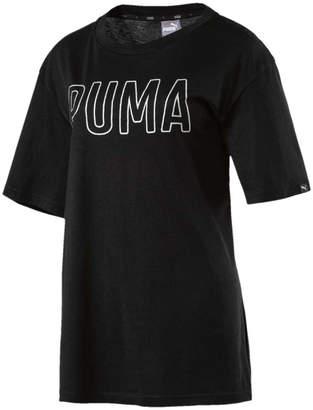 Puma Womens Fusion Elongated Tee