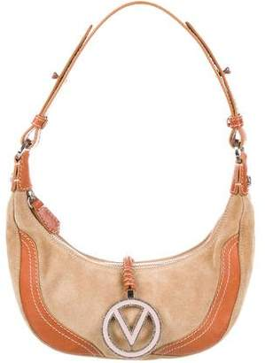Valentino Leather & Suede Small Shoulder Bag