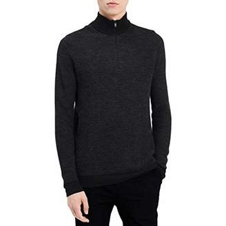 Calvin Klein Men's Merino Quarter Zip Sweater