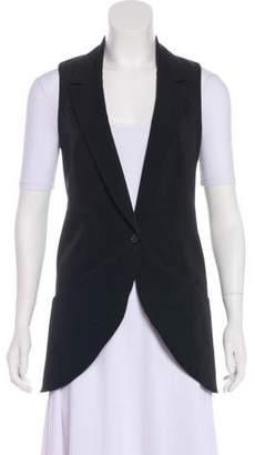 Elizabeth and James Longline Button-Up Vest