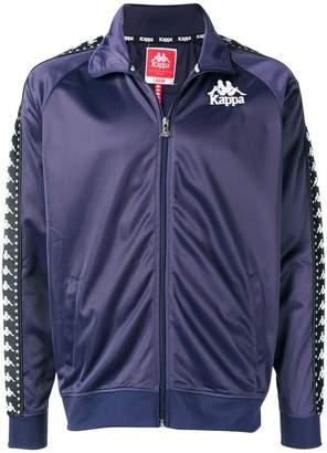 Kappa logo strap zipped sweatshirt