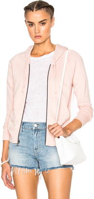 James Perse Classic Zip Hoodie $175 thestylecure.com