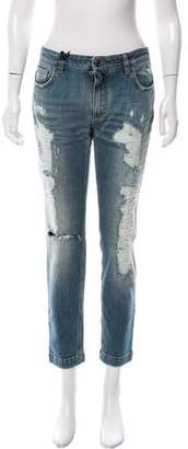 Dolce & Gabbana Mid-Rise Kate Jeans w/ Tags