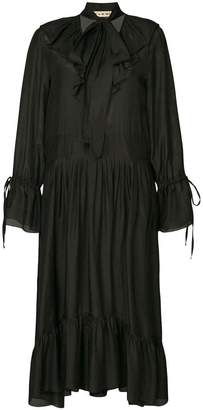 DAY Birger et Mikkelsen Flow The Label pleated shirt dress