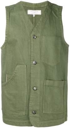 Societe Anonyme multi-pocket waistcoat
