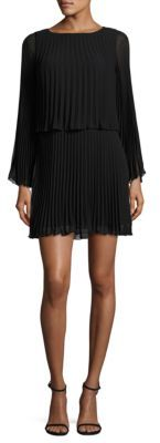 Laundry by Shelli Segal Pleated Blouson Dress $225 thestylecure.com