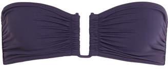 Eres Les Essentiels Show Bandeau Bikini Top - Dark purple