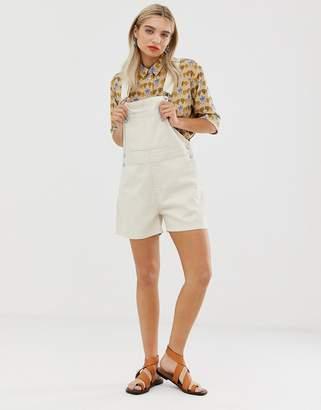 5abfd14c9c Womens Denim Dungarees Shorts - ShopStyle UK