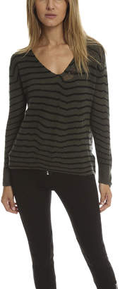 RtA Camille Deep V Sweater