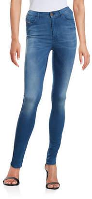 Diesel Skinzee High-Waist Skinny Jeans