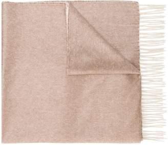 Max Mara cashmere fringed scarf