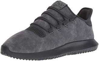 adidas Men's Tubular Shadow Running Shoe Carbon/Chalk White