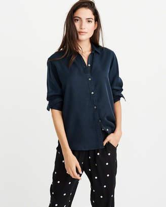 Abercrombie & Fitch Drapey Shirt