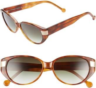 c6a33499946 Colors In Optics Southbeach 54mm Gradient Cat Eye Sunglasses