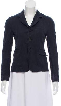 Marni Notch-Lapel Long Sleeve Blazer
