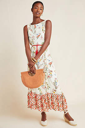8c75ab6096f2 Anthropologie Farm Rio for Jemima Floral Maxi Dress