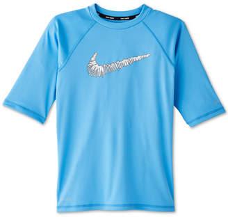 Nike Big Boys Doodle Swoosh Hydroguard Rash Guard