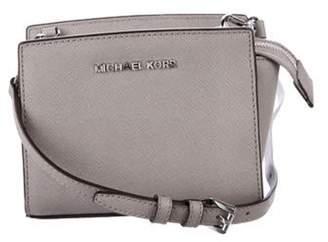 Michael Kors Mini Selma Crossbody Bag Grey Mini Selma Crossbody Bag
