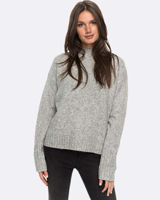 Roxy Womens Be Wild And Wonder Fluffy Knit Jumper