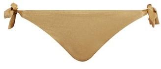 Biondi - Carmel Tie Side Bikini Briefs - Womens - Gold